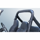 Black Full Roll Bar Cover Kit for Jeep CJ and YJ (1976-1991)