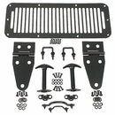 Black Hood Set by Rugged Ridge for Jeep CJ and Wrangler (76-95)