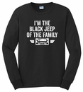 Black Jeep of the Family Long Sleeve T-Shirt