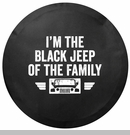 Black Jeep of the Family Tire Cover