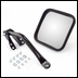 Black Left Side Mirror Kit for Jeep CJ (1955-1986)