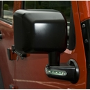 Side Mirror with Signal Wrangler JK 2007-2017 Passenger Side in Black