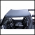 Black Summer Brief for Jeep Wrangler YJ (1987-1991)