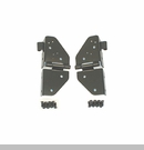 Black Windshield Hinges for Jeep CJ and YJ (1976-1995)