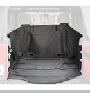C3 Cargo Cover Wrangler 2D 2007-2014 w/o Subwoofers Black Rugged Ridge