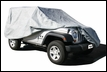Car Cover 4 Layer for Jeep Wrangler 4 Door 2007-2017, Gray