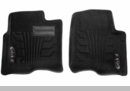 Catch-It Carpet Front Floor Liners Wrangler JK 2007-2014 Black Rampage