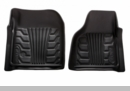 Catch-It Front Floor Liners Jeep Wrangler JK 2007-2017 Black Rampage