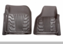 Catch-It Front Floor Liners Jeep Wrangler JK 2007-2017 Grey Rampage