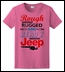 """CLOSEOUT - """"Rough Rugged and Ready"""" Women's Tee - Pink"""