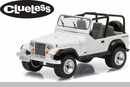 "Collectible ""Clueless"" Jeep Wrangler YJ 1994 Model 1:64 Scale"