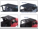 Combination Brief and Topper with Pocket for Jeep Wrangler (97-06)