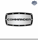 Commander Logo Billet Hitch Cover