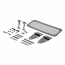 Complete Stainless Steel Hood Kit for Jeep CJ and YJ (1976-1995)