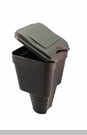 Cup Holder - Trash Caddy in Black by VDP