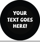 Custom Text Tire Cover by All Things Jeep