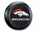 Denver Broncos NFL Tire Cover - Black Vinyl