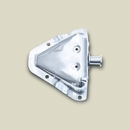 Door Bracket Kit, Left Hand, 1981-1995 CJ & YJ , Stainless Steel