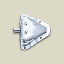 Door Bracket Kit, Right Hand, 1981-1995 (CJ & YJ), Stainless Steel