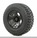 "Drakon Wheel/Tire Package Wrangler 2007-2012 17x9"" Black 305/65R17"