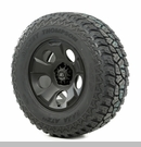 "Drakon Wheel/Tire Package Wrangler 2007-2012 17x9"" Black 315/70R17"