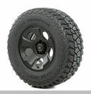 "Drakon Wheel/Tire Package Wrangler 2013-2017 17x9"" Black 305/65R17"