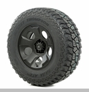 "Drakon Wheel/Tire Package Wrangler 2013-2017 17x9"" Black 315/70R17"