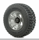 "Drakon Wheel/Tire Package Wrangler 2013-2017 17x9"" Metal 305/65R17"