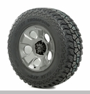 "Drakon Wheel/Tire Package Wrangler 2013-2017 17x9"" Metal 315/70R17"