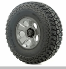 "Drakon Wheel/Tire Package Wrangler 2013-2017 17x9"" Metal 37x12.50x17"