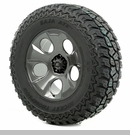 "Drakon Wheel/Tire Package Wrangler 2013-2017 20x9"" Metal 37x12.50x20"