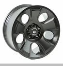 Drakon Wheel Wrangler JK 2007-2017 Black Satin by Rugged Ridge - 18x9""