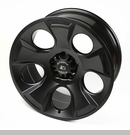 Drakon Wheel Wrangler JK 2007-2017 Black Satin by Rugged Ridge - 20x9""