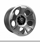 Drakon Wheel Wrangler JK 2007-2017 Gun Metal by Rugged Ridge - 17x9""