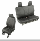 Elite Ballistic Front & Rear Seat Covers Wrangler 2D 2007-2010 Blk 1200 Denier