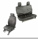 Elite Ballistic Front & Rear Seat Covers Wrangler 2D 2007-2010 Blk 840 Denier