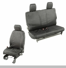 Elite Ballistic Front & Rear Seat Covers Wrangler 2D 2011-2017 Blk 1200 Denier