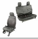 Elite Ballistic Front & Rear Seat Covers Wrangler 2D 2011-2017 Blk 840 Denier