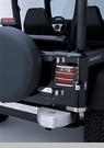Euro Tail Light Guards for Jeep CJ,YJ,TJ,LJ in Stainless Steel