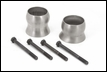Exhaust Spacer Kit for Jeep Wrangler JK 2012-2017 by Rugged Ridge