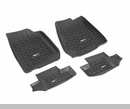 All Terrain Floor Liner Kit Wrangler JK 2D 2007-2017 Rugged Ridge