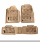 Floor Liner Kit for Jeep Grand Cherokee 2011-2017 Tan by Rugged Ridge