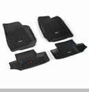 All Terrain Front & Rear Floor Liner Kit Wrangler JK 2D 2007-2017