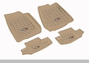All Terrain Front & Rear Floor Liners Wrangler JK 2D 2007-2017 Tan