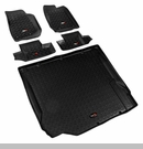 All Terrain Floor Liner Kit Wrangler JK 2D 2007-2010 Black