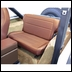Fold and Tumble Rear Seat Jeep CJ (1976-1986) and YJ (1987-1995)