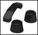 Footman Loop & Windshield Stop Wrangler 1997-2017 Black by Rampage