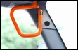 Front Rigid Grab Handle for Wrangler 2007-2017 in Orange by Steinjager