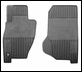 Front Slush Mats for Jeep Liberty 2002-2007 in Slate Grey by Mopar