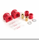 Front Sway Bar & Link Bushing Kit Wrangler 2007-2017 w/31mm Sway Bar Red